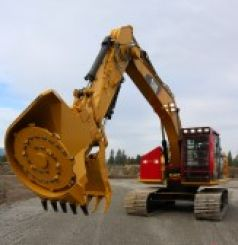 USED CAT 323F W/Forestry Mulcher FOR SALE