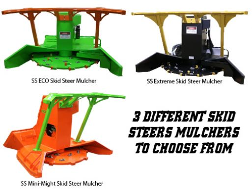 SS Series Forestry Mulchers