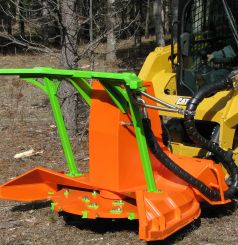 SS Mini Might Mulchers for Skid Steers