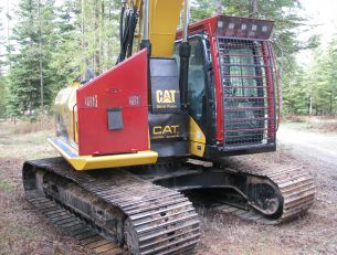 Forestry Guarding Systems For Excavators